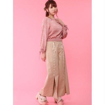 Honey Salon【1月下旬発送予定】フロントレースアップパンツFHW-0848