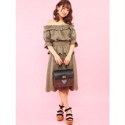 Honey Salon 【5月発送予定】ハートラタンバッグ FHB-1253