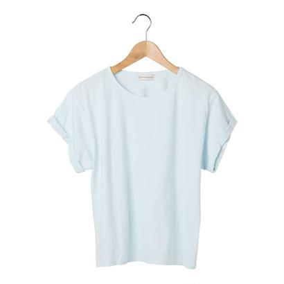 FT040308M / Tシャツ  FEMALE -  blue mallow  -