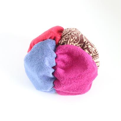 fuwafuwa〈ペイズリー×赤×紫×紺藍〉