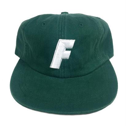 """F"" Logo Ball Cap ( Ivy Green )"