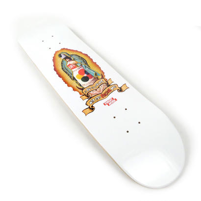 """GOD FORGIVE ME"" Skateboard Deck【WHITE】"
