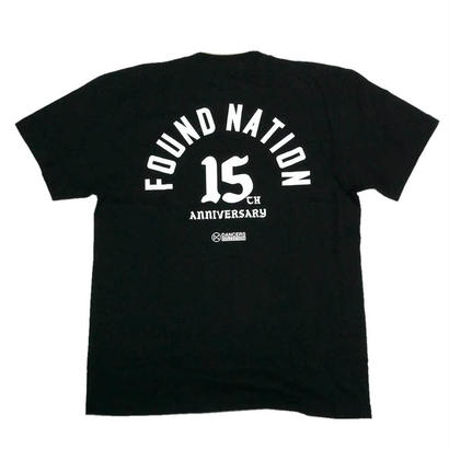 FOUNDNATION JAM 2018 - 15th Anniversary T-shirt - ( Black )