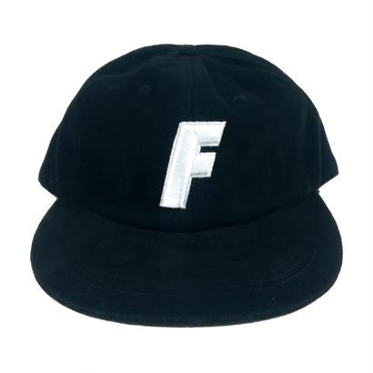 """F"" Logo Ball Cap ( Black )"
