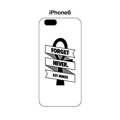 RIbbon Ankh iphone6 case (White)