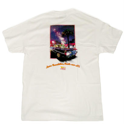 """Still N' Out"" Short Sleeve Tee ( White )"
