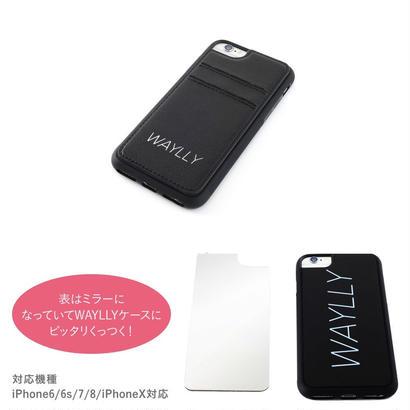 Waylly 専用 iphone ミラー/カードケース