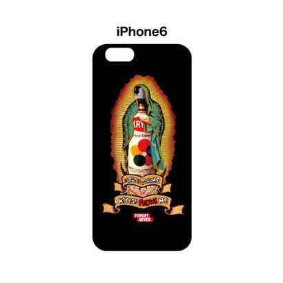 GOD FORGIVE ME iphone6 case (Black)