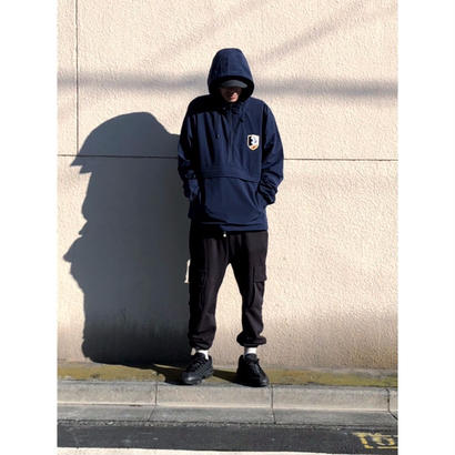 "iSOLATED ARTS-Anorak Parka""Emblem""(Navy)"