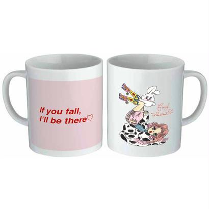 'If you fall, I'll be there♡' Mug