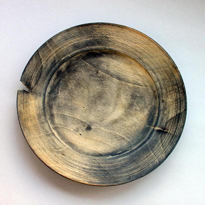 運天達也:リム皿 イチョウ (4)