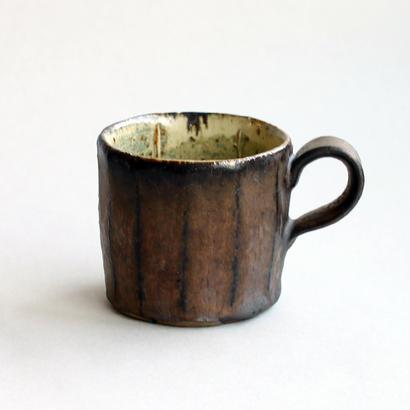 関太一郎 八角カップ チタン白ブロンズ(2)