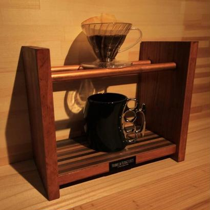 "Coffee Drip Stand ""Wood & Cupper"""