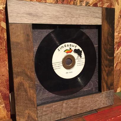 Handmade Vinyl Frame.9