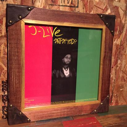 Handmade Vinyl Frame #14