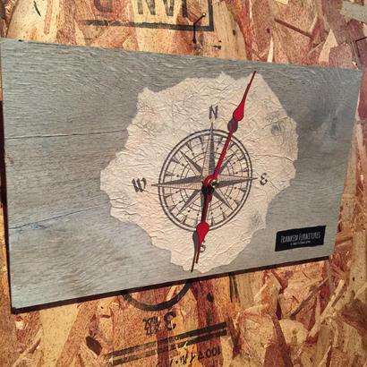 "Wall Clock ""Compass"""
