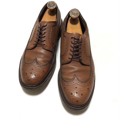 Hanover L.B.Sheppard Brown ロング ウイングチップ