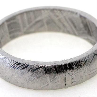【 宇宙からの贈り物 ギベオン】〜4億5千万年前に地球に飛来した鉄隕石〜リング