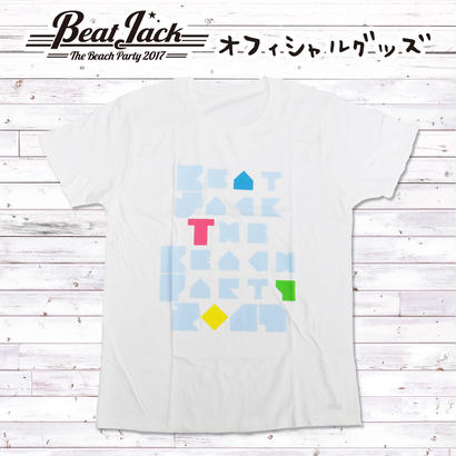 BeatJack ピースTシャツ(ホワイト)