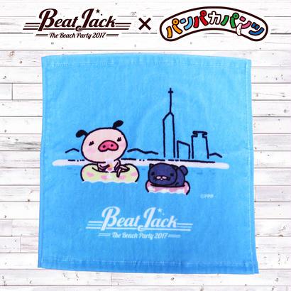 BeatJack×パンパカパンツコラボ ハンドタオル(ビーチ)