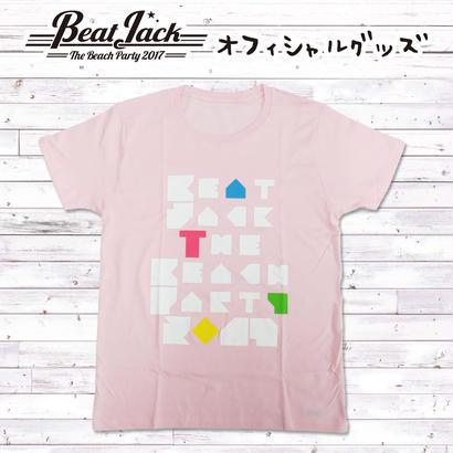 BeatJack ピースTシャツ(ピンク)