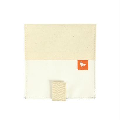 X)二つ折り財布