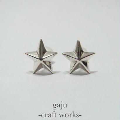 pentagram pierced earring