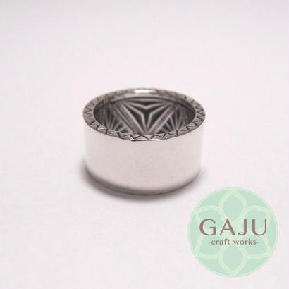 Geometric ring (幾何学模様リング)