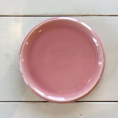 ピンク6寸皿