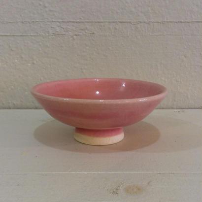 ピンク茶碗