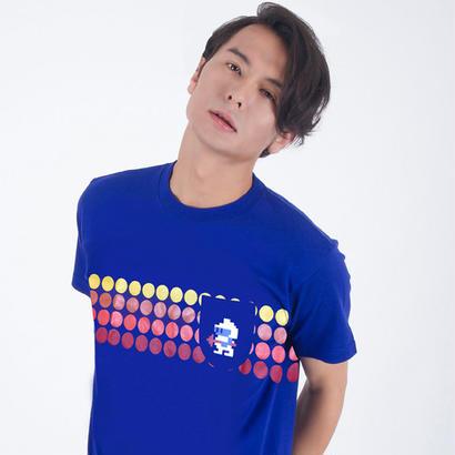 ディグダグ (DIGDUG) 〜1 POCKET TEE〜 (BLUE)