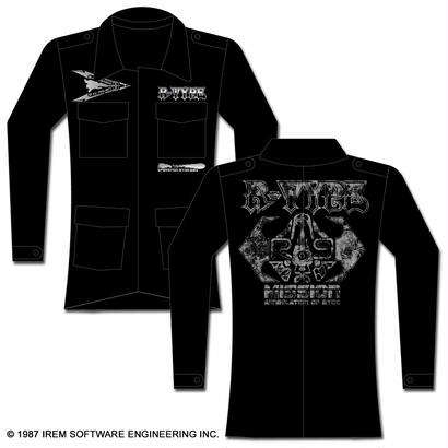 R-TYPE R-9 アーミージャケット -BLACK-