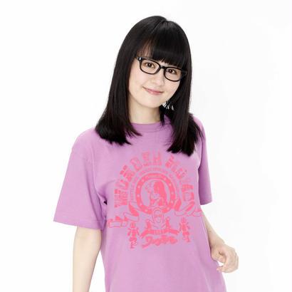 ワンダーモモ30周年記念! 【WONDER MOMO School Club Tee】 (ラベンダー)