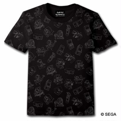 SEGA Arcade Gamer Tシャツ -BLACK-