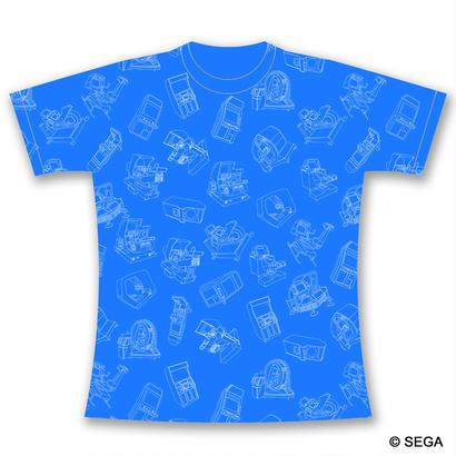 【10月25日発売】SEGA Arcade Gamer Tシャツ  -BLUE-