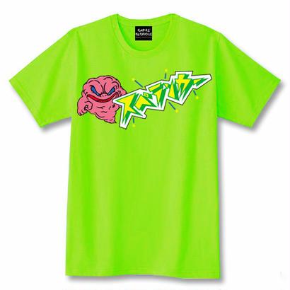 スペランカー GHOST  Tシャツ(ライムグリーン)