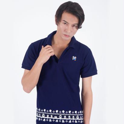 マッピー ポロシャツ  (Navy)  〜MAPPY  PoloShirt〜
