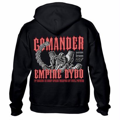 R-TYPE 「GOMANDER」ジップアップパーカー
