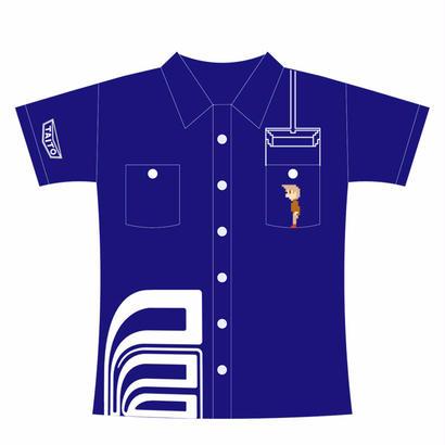 エレベーターアクション 〜Working Shirt〜 (ブルー)