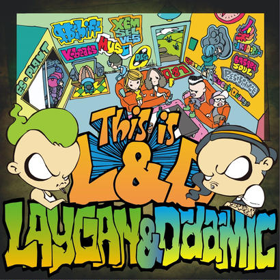 LAYGAN & D-da-MIC 1st Album【This is L&D】
