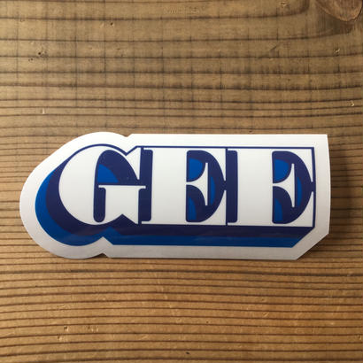 GEE ORIGINAL ステッカー / BLU