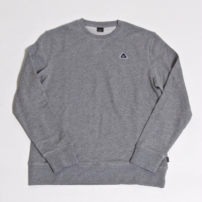POLER EYE PATCH CREW / GRAY HEATHER