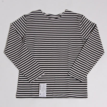 DEAD STOCK RUSSIAN NAVAL BORDER SHIRT / BLACK