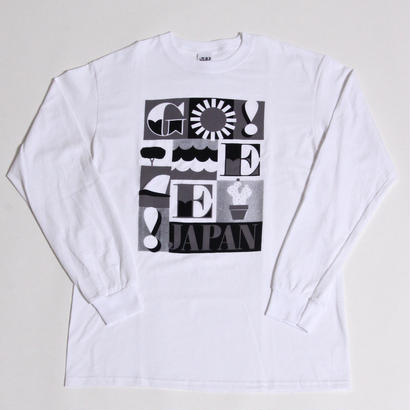 JEFF CANHAM × GEE ORIGINAL L/S  T-SHIRTS / WHITE