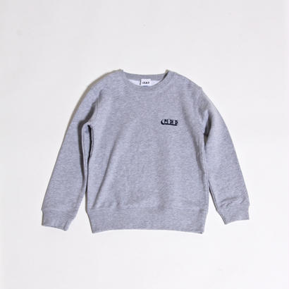 GEE ORIGINAL 10.0oz KID'S SWEAT SHIRTS / MIX GREY