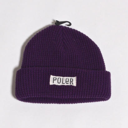 POLER WORKERMAN BEANIE / PURPLE