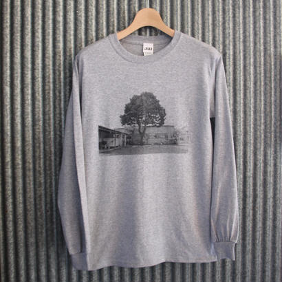 GEE ORIGINAL PHOTO L/S T-SHIRTS / GREY