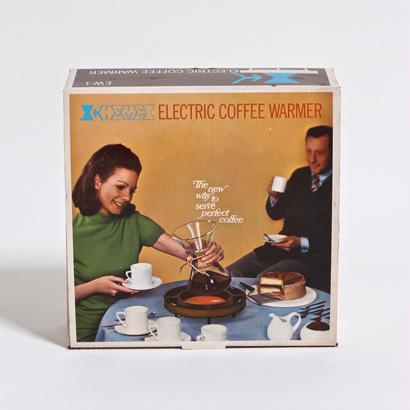 VINTAGE CHEMEX ELECTRIC COFFEE  WARMER / DEAD STOCK