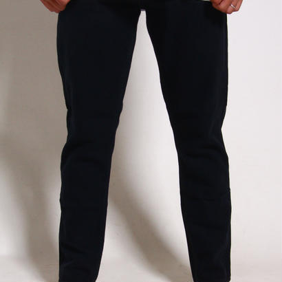 RVCA ALEX KNOST SIGNATURE COLLECTION HER DADS DENIM PANTS / BLACK OVERDYE