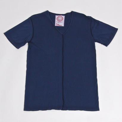 ALM V-NECK T-SHIRTS / NAVY / size : M